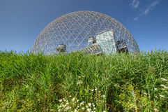 Biosphere in Montreal stock photo