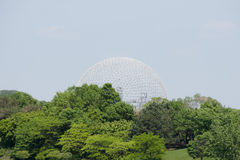 Biosphere - Montreal - Canada. Biosphere Grid in Montreal - Canada stock images
