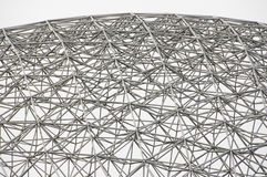 Biosphere - Montreal - Canada. Biosphere Grid in Montreal - Canada stock photos