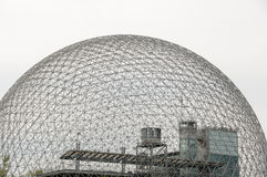 Biosphere - Montreal - Canada. Biosphere Grid in Montreal - Canada stock photo