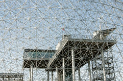 Biosphere - Montreal - Canada. Biosphere Grid in Montreal - Canada stock photography