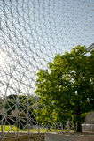 Biosphere - Montreal - Canada. Biosphere Grid in Montreal - Canada royalty free stock photography