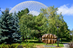 The Biosphere stock photo
