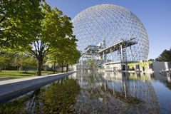 Biosphere in Montreal, Canada, Quebec Stock Image