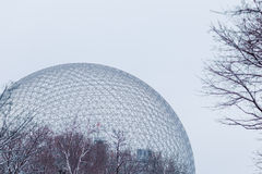 Biosphere in Montreal, Canada Stock Images