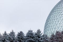 Biosphere in Montreal, Canada Royalty Free Stock Photography