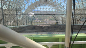 BioSphere 2 - New Planting Bed Royalty Free Stock Photo
