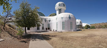 BioSphere 2 - Panorama Royalty Free Stock Photo