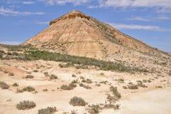Biosphere reserve Bardenas Reales, Navarre, Spain Stock Image