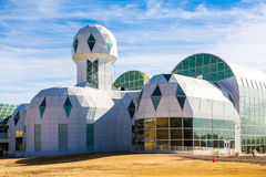 Biosphäre 2 ist eine Erdsystemwissenschafts-Forschungsanlage Lizenzfreies Stockfoto