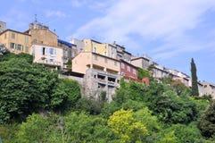 biot法国村庄 库存照片