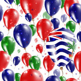 BIOT Independence Day Seamless Pattern. Royalty Free Stock Photos