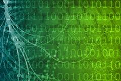 Biotech-futuristischer ausländischer Hintergrund Stockbilder