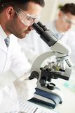 Biotechnological research Royalty Free Stock Photos
