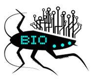 Biotechnologie vektor abbildung