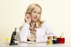 biotechnologist Royaltyfri Fotografi