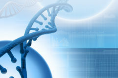 Biotechnology genetic research royalty free stock image