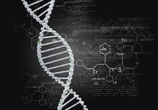 Biotechnology genetic research royalty free stock photo