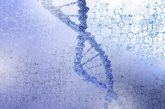 Biotechnology genetic research Stock Image