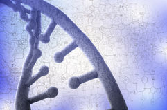 Biotechnology genetic research Stock Photography