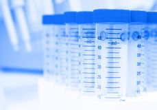 Biotechnology lab Stock Photography