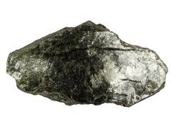 Biotite mineral isolated Stock Photos