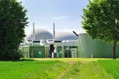 Biotreibstoffanlage. Stockfotografie