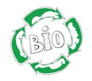 Biowiederverwertung Stockfotos