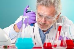 Biowissenschaftsforschung. Stockfoto