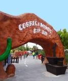 Bip Bip Roller Coaster, Warner Park, Madrid Stock Images