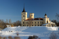 Bip Castle in winter. Winter view of the castle Bip. In St.Petersburg Stock Photography