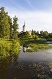 Bip kasztel (Grodowy Marienthal) Pavlovsk saint petersburg Rosja Obraz Stock