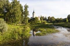 Bip kasztel (Grodowy Marienthal) Pavlovsk saint petersburg Rosja Zdjęcia Royalty Free