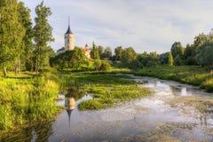 Bip kasztel (Grodowy Marienthal) Pavlovsk saint petersburg Rosja Zdjęcie Stock