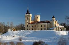 Bip-Schloss im Winter stockfotografie
