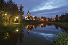 BIP-slott, Sankt-Petersburg Royaltyfri Bild