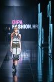 Bipa时尚 hr时装表演:AnaBo 阿那波格丹,萨格勒布, Croa 库存照片
