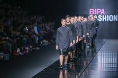 Bipa时尚 hr时装表演:Ivana Janjic,萨格勒布,克罗地亚 库存图片