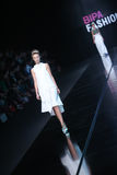 Bipa时尚 hr时装表演:Morana Krklec,萨格勒布,克罗地亚 库存图片