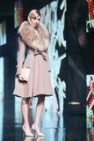 Bipa Fashion.hr fashion show: Elfs, Zagreb, Croatia. Stock Photo