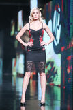 Bipa Fashion.hr fashion show: Elfs, Zagreb, Croatia. Stock Images
