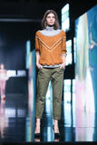 Bipa Fashion.hr fashion show: Robert Sever, Zagreb, Croatia. Royalty Free Stock Photo