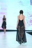 Bipa Fashion.hr fashion show 2017 : Yuniku, Zagreb, Croatia. Royalty Free Stock Photography