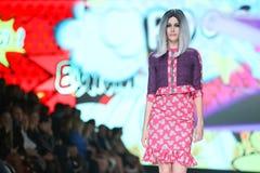 Bipa Fashion.hr fashion show 2017 : Zoran Aragovic, Zagreb, Croatia. Stock Images