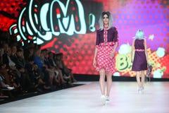 Bipa Fashion.hr fashion show 2017 : Zoran Aragovic, Zagreb, Croatia. Stock Photos