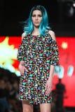 Bipa Fashion.hr fashion show 2017 : Zoran Aragovic, Zagreb, Croatia. Royalty Free Stock Images