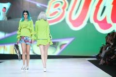 Bipa Fashion.hr fashion show 2017 : Zoran Aragovic, Zagreb, Croatia. Stock Photo