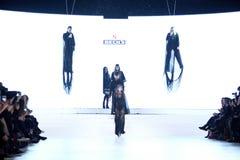 Bipa Fashion Show: Coded Edge, Zagreb, Croatia. Royalty Free Stock Photos