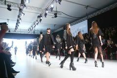 Bipa Fashion Show: Coded Edge, Zagreb, Croatia. Stock Photography