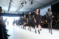 Bipa Fashion Show: Coded Edge, Zagreb, Croatia. Stock Images